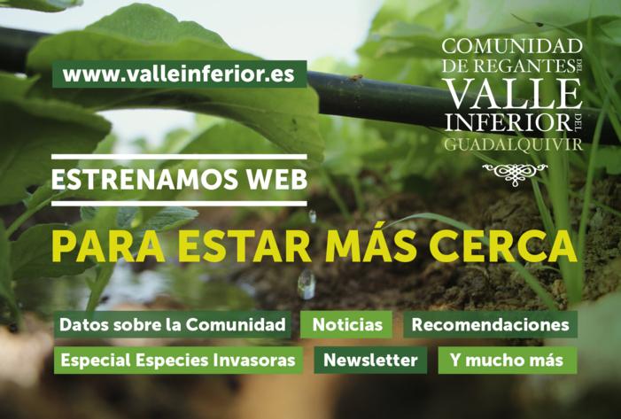 CRR Valle Inferior del Guadalquivir - Estrenamos web