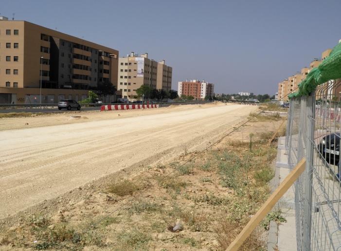 La Ronda Urbana Sur de Mairena del Aljarafe estará finalizada en agosto de 2018