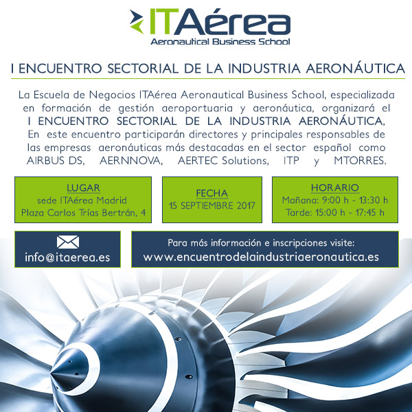 I Encuentro Sectorial de la Industria Aeronáutica - 15 de Septiembre 2017, Madrid