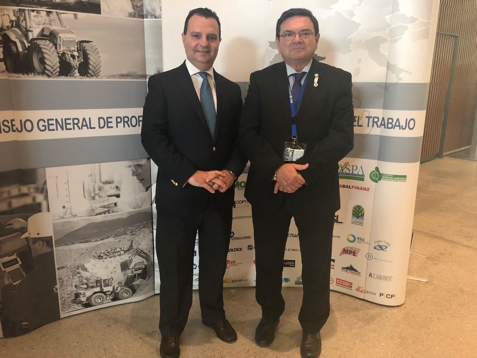 Nota informativa: El abogado sevillano Francisco José Fernández Romero, Medalla de Oro al Mérito Profesional de la Seguridad y Salud en el Trabajo