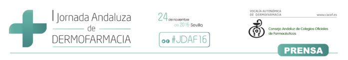 Más de 400 farmacéuticos se darán cita en la I Jornada Andaluza de Dermofarmacia