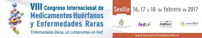 CONVOCATORIA: Mañana comienza en Sevilla el VIII Congreso Internacional de Medicamentos Huérfanos y Enfermedades Raras