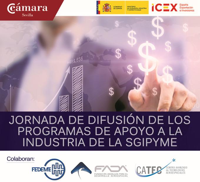 Jornada de Difusión de los Programas de Apoyo a la Industria de la SGIPYME - 31 de marzo