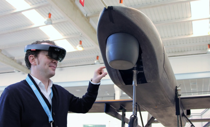AERTEC Solutions presents its MRO support system based on augmented reality