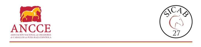SICAB 2017 comienza su cuenta atrás con la venta anticipada de entradas y prevé incrementar la presencia de ganaderías de caballos de Pura Raza  Española de Jaén