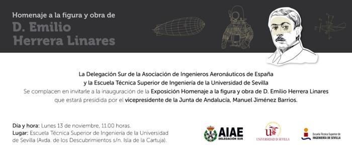 INAUGURACIÓN DE LA EXPOSICIÓN HOMENAJE A EMILIO HERRERA. LUNES 13 DE NOVIEMBRE A LAS 11.00 HORAS