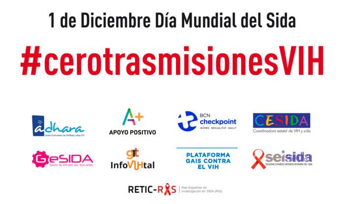 """SOCIEDADES CIENTÍFICAS Y ASOCIACIONES DE PACIENTES FIRMAN EL MANIFIESTO """"CERO TRASMISIONES VIH EN ESPAÑA"""""""