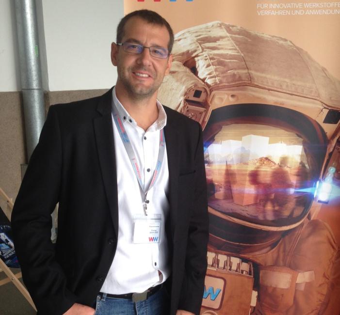 Fernando Lasagni, del centro tecnológico CATEC, galardonado con el prestigioso premio Georg Sachs Preis de la Sociedad Alemana de Materiales