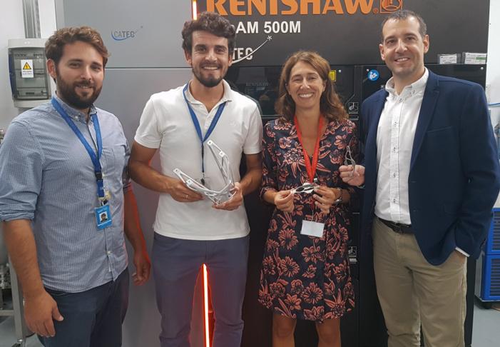 FADA-CATEC y CiTD desarrollan componentes en impresión 3D para el nuevo satélite CHEOPS de la Agencia Espacial Europea