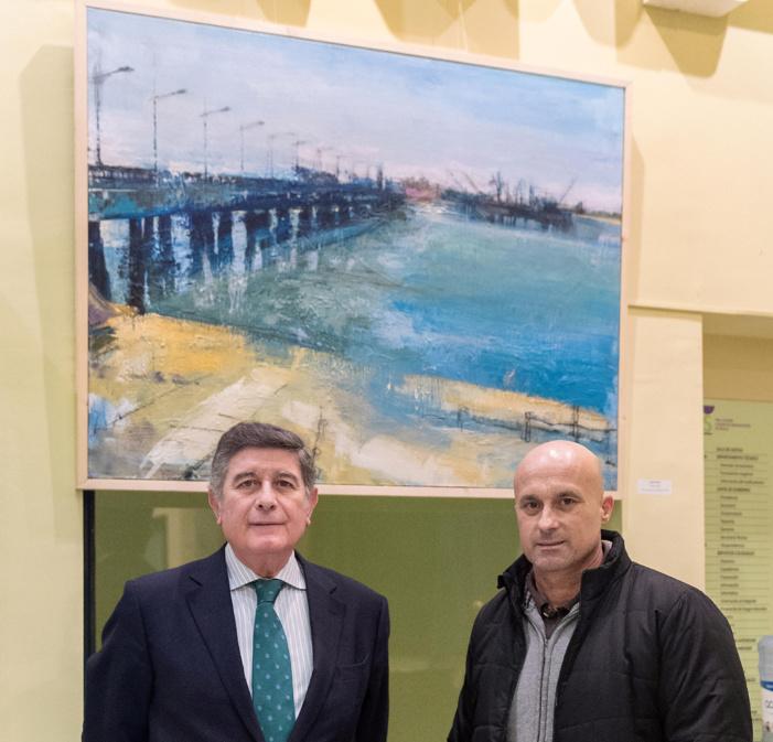 El Colegio de Farmacéuticos de Sevilla acoge una selección de las mejores obras presentadas a su 16º concurso de pintura, centrado en paisajes de Andalucía