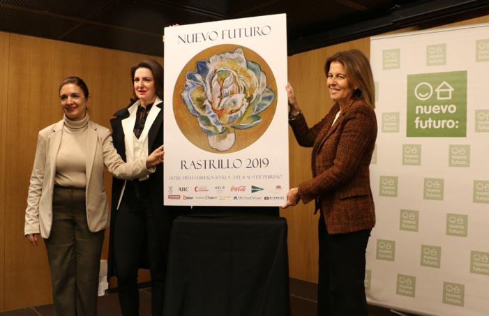 Nota de prensa - Se presenta el cartel del Rastrillo de Nuevo Futuro 2019, obra de la pintora y artista Cristina Ybarra