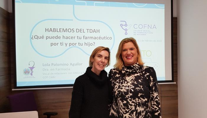 Una farmacéutica gaditana muestra a compañeros de toda España el papel relevante que pueden desempeñar ante el TDAH