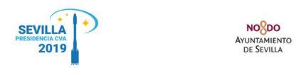 """Nota de Prensa: EVILLA, PRESIDENCIA DE LA RED DE CIUDADES ARIANE 2019 ENTREGA LOS PREMIOS A LOS GANADORES DE LA INICIATIVA """"RETOS DE INNOVACIÓN ABIERTA"""" SEVILLA MIRANDO AL ESPACIO"""