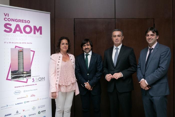 Andalucía contribuye de manera importante al desarrollo y aplicación de la oncología de precisión y los nuevos tratamientos del cáncer que están aumentando la supervivencia y la mejora de la calidad de vida de los pacientes