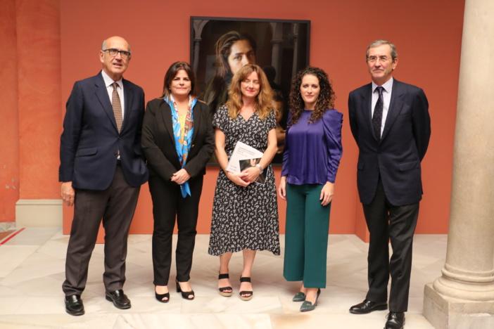 Reconocidos pintores, artistas y galerías de Sevilla ceden sus pinturas y obras para una exposición y subasta benéfica a favor de Proyecto Hombre en la Fundación Cajasol