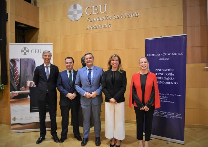 CEU Andalucía y Cremades Calvo-Sotelo ponen en marcha el I Máster en Derecho Empresarial de las Nuevas Tecnologías