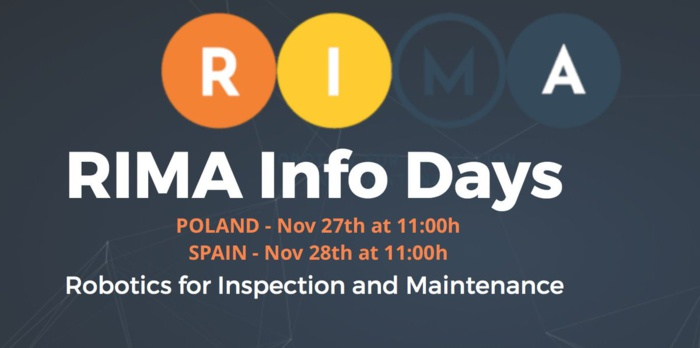 RIMA Infoday Madrid, 28 de noviembre