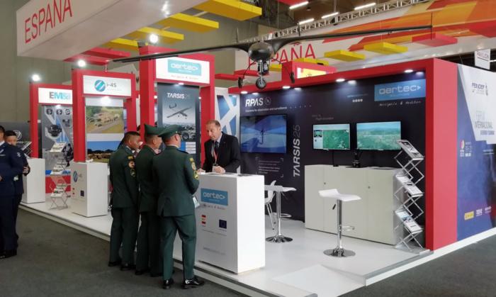 NOTA DE PRENSA: AERTEC Solutions expone su tecnología en Expodefensa, la Feria Internacional de Defensa y Seguridad que se celebra en Colombia