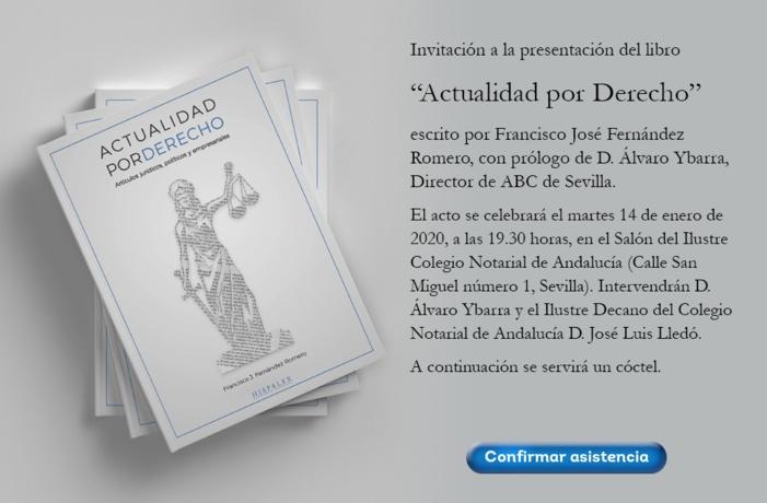 """Invitación a la presentación del libro """"Actualidad por Derecho"""""""