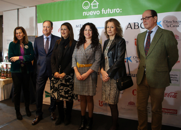 Comienza la 34ª edición de El Rastrillo de Nuevo Futuro Sevilla, cuya recaudación se destinará a la mejora del transporte de sus menores en acogida