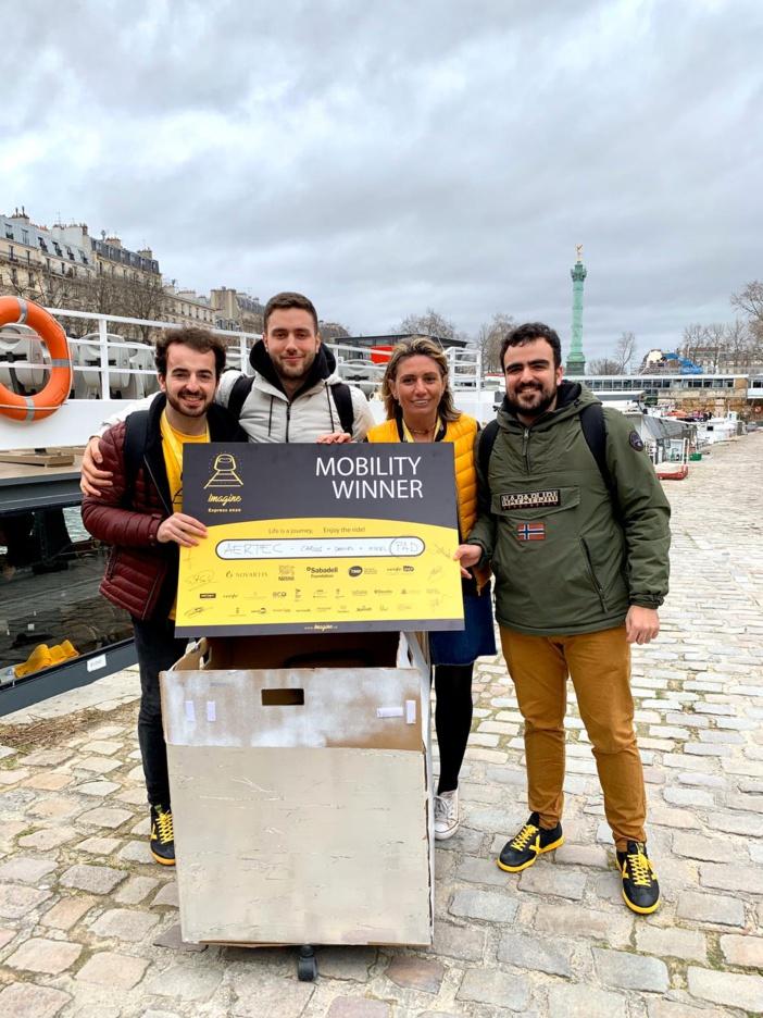 NOTA DE PRENSA: El asistente robotizado que ganó la 4ª edición del reto AERTEC Solutions Challenge conquista ahora el Imagine Express