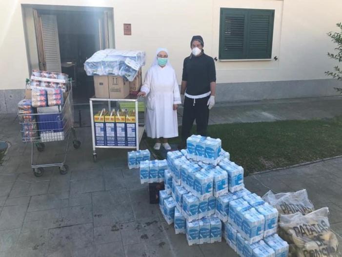 """El proyecto solidario """"Vera-Cruz Ayuda"""" destinará 10.000 euros para apoyar a los vecinos de Alcalá del Río más afectados por la crisis del coronavirus"""