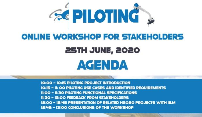 25 de junio: Webinario sobre el proyecto PILOTING / PILOTING Project Online workshop next June 25th