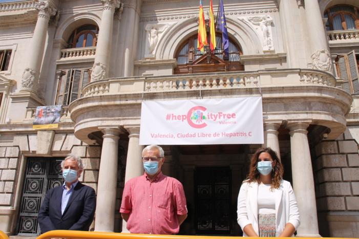 Valencia se suma al movimiento Ciudades Libres de Hepatitis C, #HepCityFree