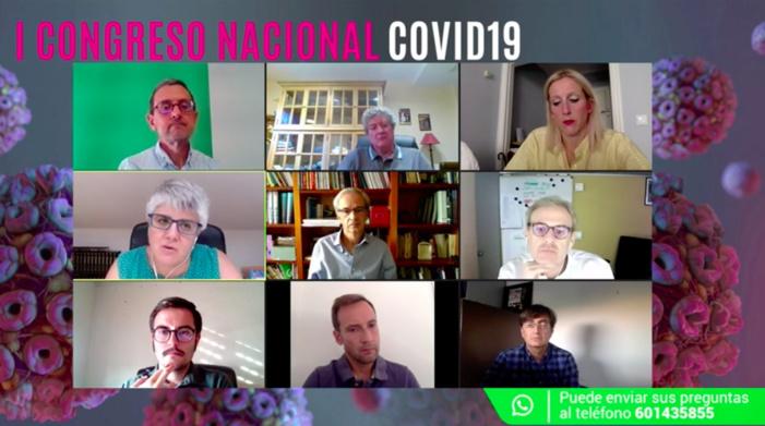 Médicos internistas exponen la evidencia científica más reciente sobre la infección por SARS-CoV-2 como enfermedad sistémica en el I Congreso Nacional COVID-19