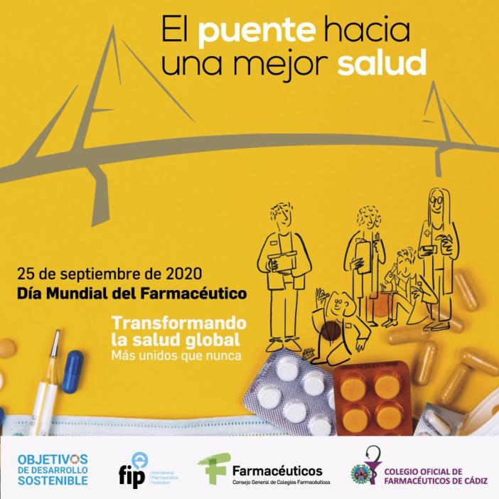 Cádiz iluminará de verde, como la cruz de las farmacias, el Puente de la Constitución de 1812 para reconocer el papel de los farmacéuticos frente a la COVID-19