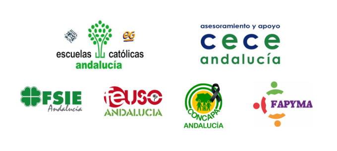 Más de 550 centros privados y privados concertados, 20.000 profesores y 150.000 familias andaluzas, en contra de la LOMLOE