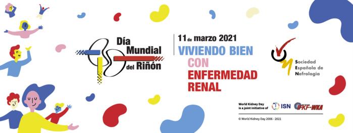 Convocatoria virtual - Expertos, pacientes, y celebridades del ámbito cultural y social presentan mañana la campaña del Día Mundial del Riñón en España