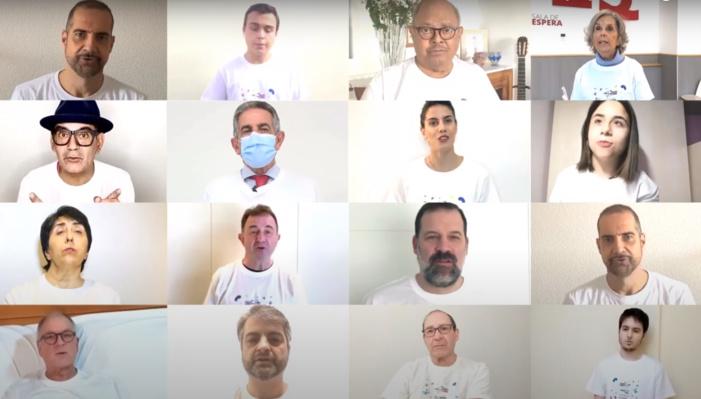 El presidente de Cantabria se suma a celebridades del ámbito cultural y social y a pacientes y profesionales sanitarios en una campaña para alertar del crecimiento de la enfermedad renal y de la importancia de cuidar la salud de los riñones