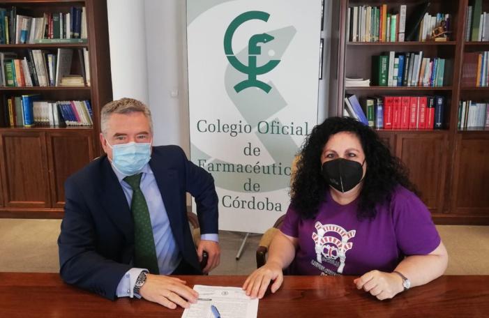 El Colegio de Farmacéuticos de Córdoba y ACOLU suscriben un acuerdo para ofrecer lotes de protección solar a personas con lupus
