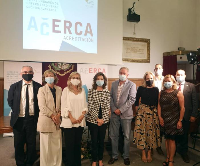 Nueve hospitales reciben el reconocimiento de la Sociedad Española de Nefrología por implantar un nuevo modelo de excelencia para mejorar la atención a las personas con Enfermedad Renal Crónica Avanzada