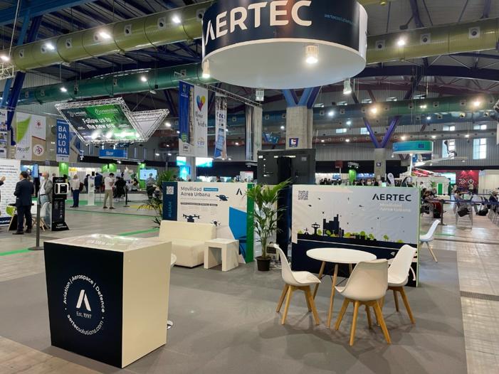 NOTA DE PRENSA: AERTEC presenta en S-Moving su oferta de servicios especializada en Movilidad Aérea Urbana