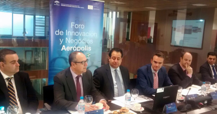 ED CARRASCO, SUPPLIER PROGRAM MANAGEMENT DE BOEING COMMERCIAL AIRPLANES, VISITA LA CADENA DE SUMINISTRO DEL CLUSTER AEROESPACIAL ANDALUZ