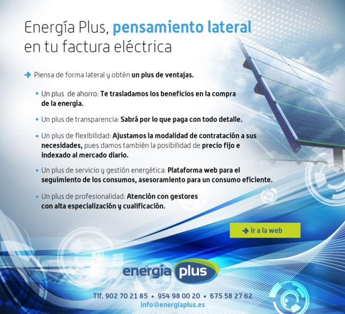Energía Plus, pensamiento lateral en tu factura eléctrica