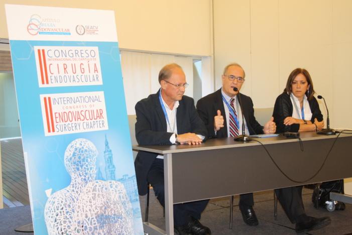 Zaragoza se convierte en la capital europea de la cirugía endovascular congregando a más de 200 especialistas de todo el continente