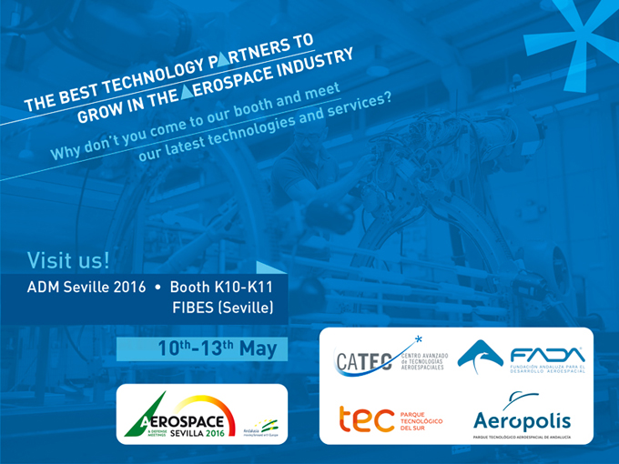 The Best Technology Partners to Grow in the Aerospace Industry - Visit us in ADM Seville!