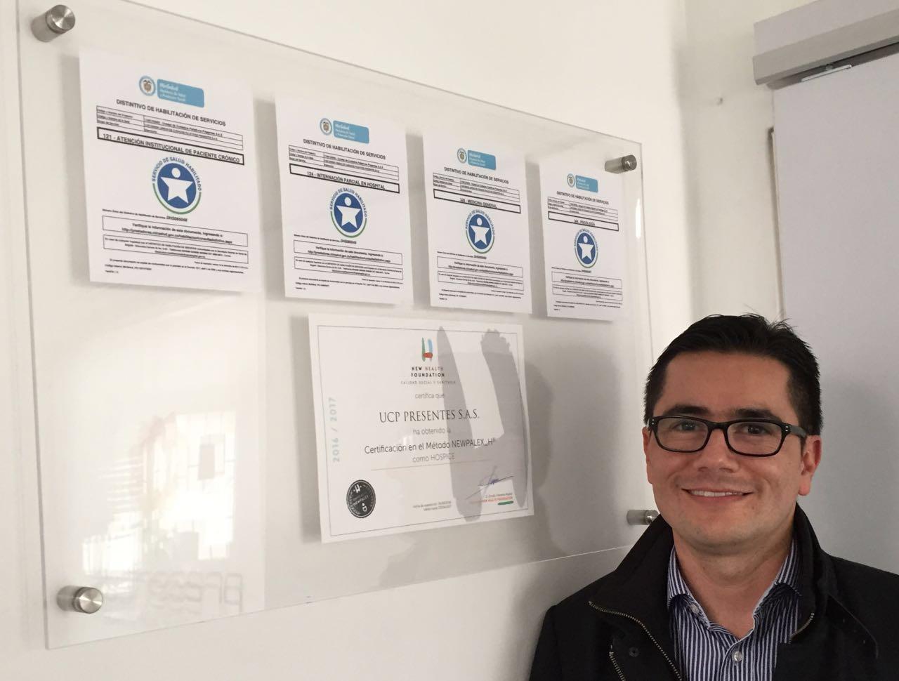 NOTA DE PRENSA/SALUD-ANDALUCÍA: DOS ORGANIZACIONES SANITARIAS COLOMBIANAS RECIBEN LA CERTIFICACIÓN NEWPALEX GRACIAS AL DESARROLLO DE CUIDADOS PALIATIVOS BASADOS EN UNA METODOLOGÍA ANDALUZA