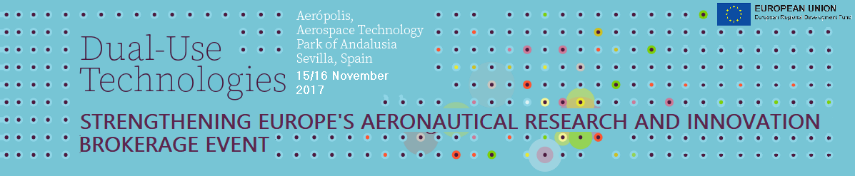 STRENGTHENING EUROPE'S AERONAUTICAL RESEARCH AND INNOVATION - INFODAY IBERIA CLEAN SKY, 15-16 noviembre, Aerópolis (Sevilla)
