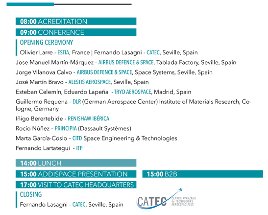 CONFERENCE ON METAL ADDITIVE MANUFACTURING FOR AEROSPACE APPLICATIONS - 21 February, Aerópolis