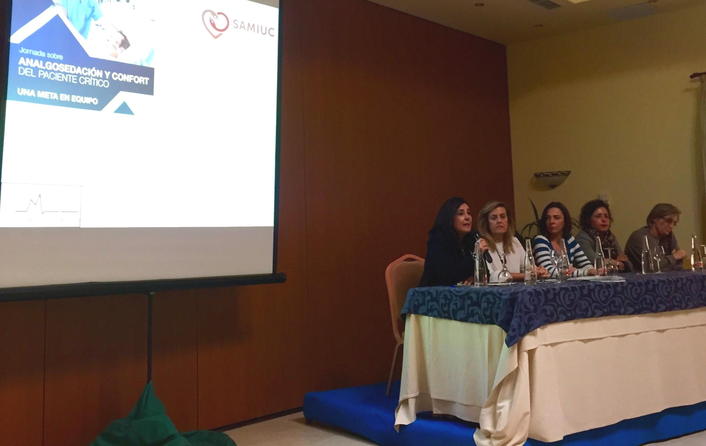 Médicos y enfermeros de las UCI de Andalucía ponen en común buenas prácticas para reducir los niveles de dolor en pacientes críticos