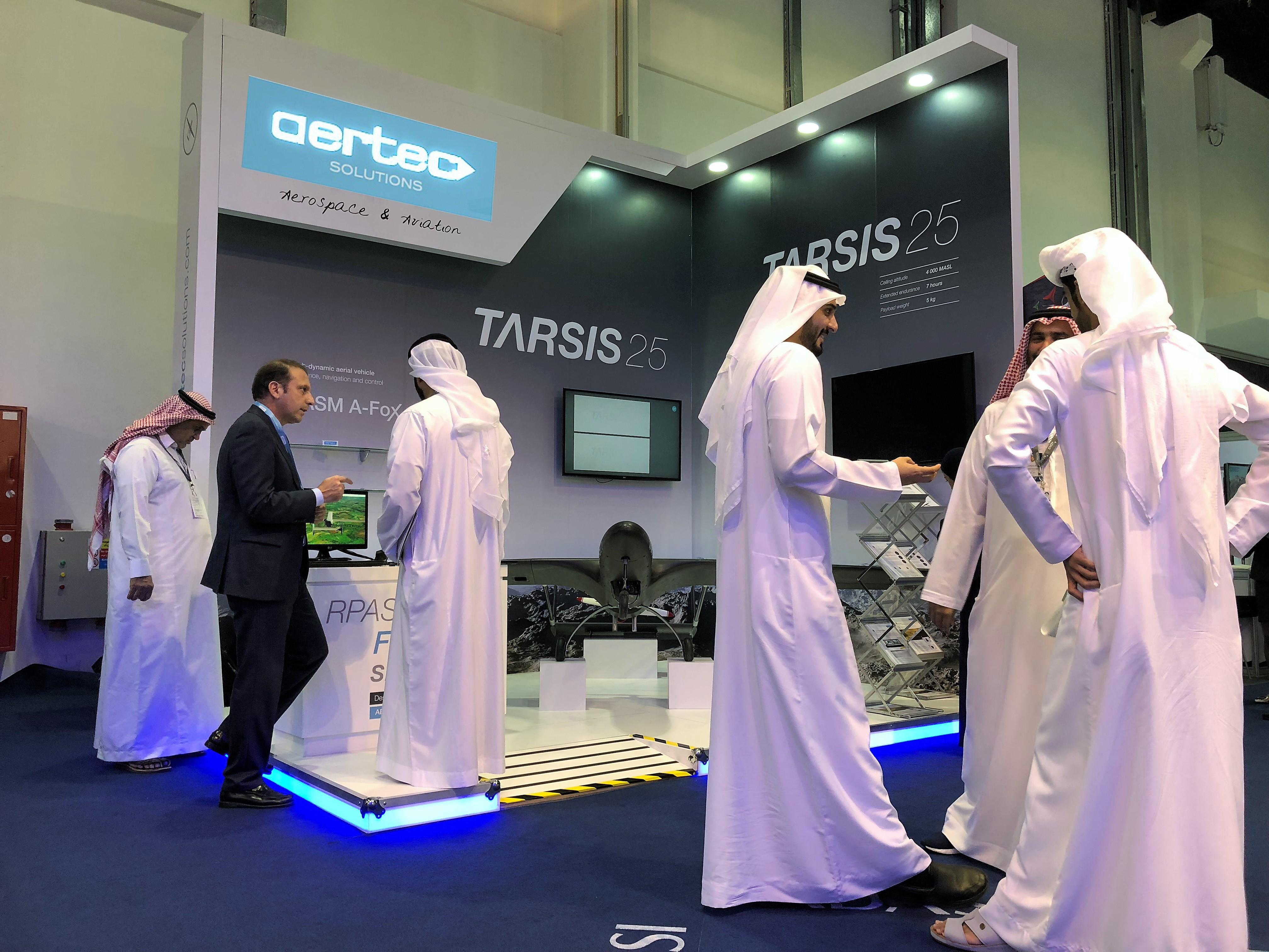 AERTEC Solutions acude a la III edición de UMEX, la feria de los sistemas aéreos no tripulados de Oriente Medio
