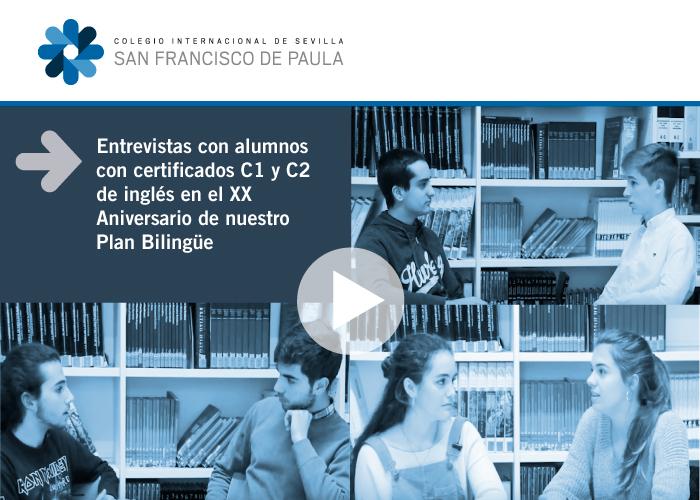 Entrevista con alumnos con certificados C1 y C2 de inglés
