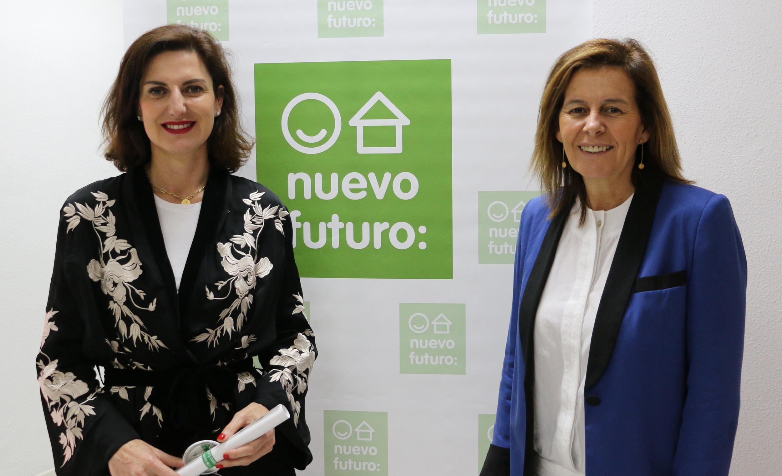 La artista y pintora Cristina Ybarra realizará el cartel del Rastrillo de Nuevo Futuro de 2019