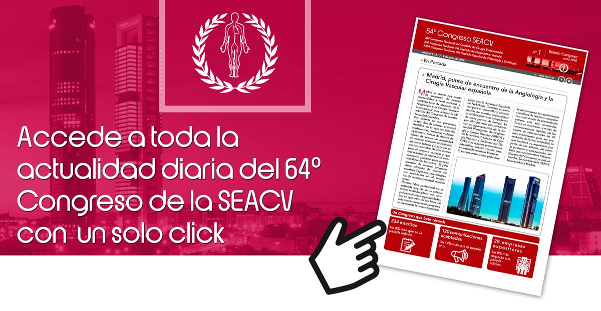 Boletín informativo nº 1 | 64º Congreso de la SEACV