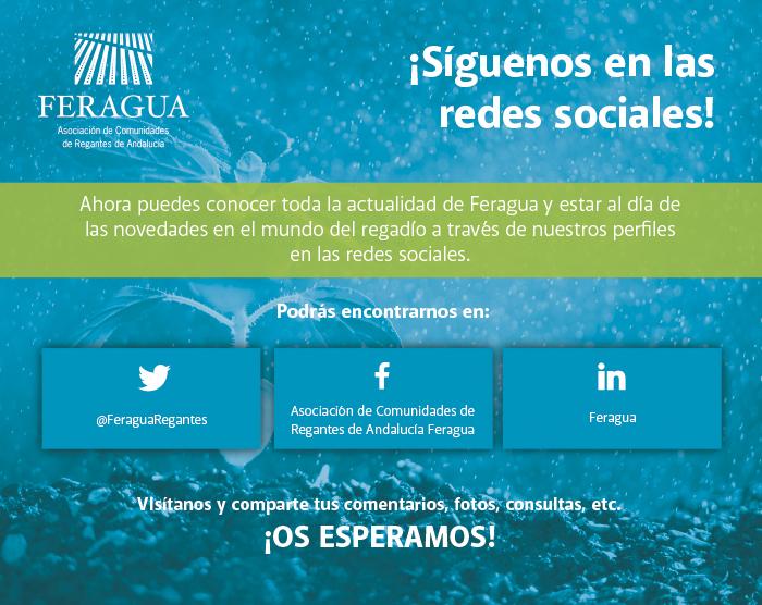 FERAGUA - ¡Síguenos en las redes sociales!