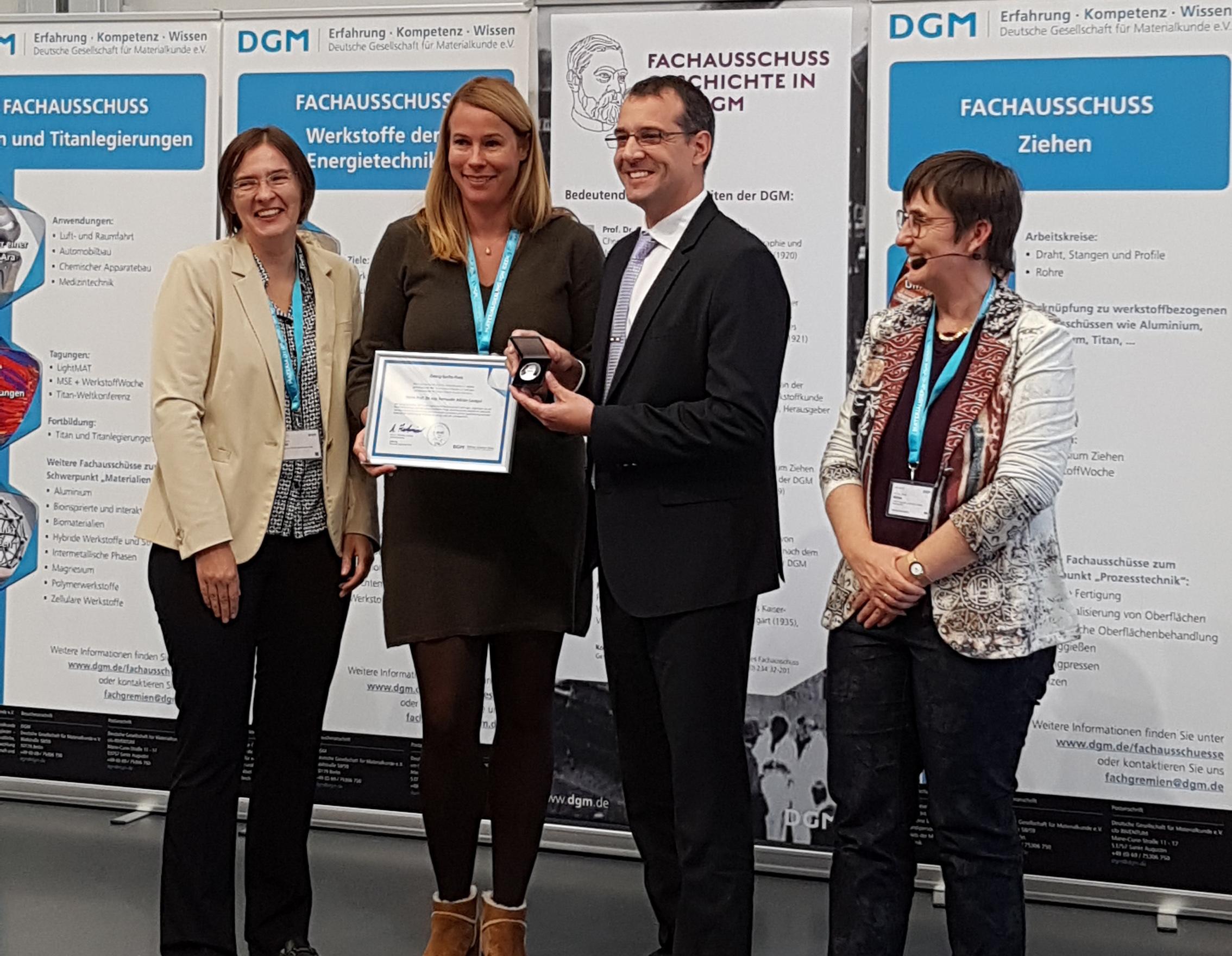 Fernando Lasagni, de CATEC, recibe un premio científico internacional por sus trabajos innovadores en la aplicación de la impresión 3D al sector aeroespacial